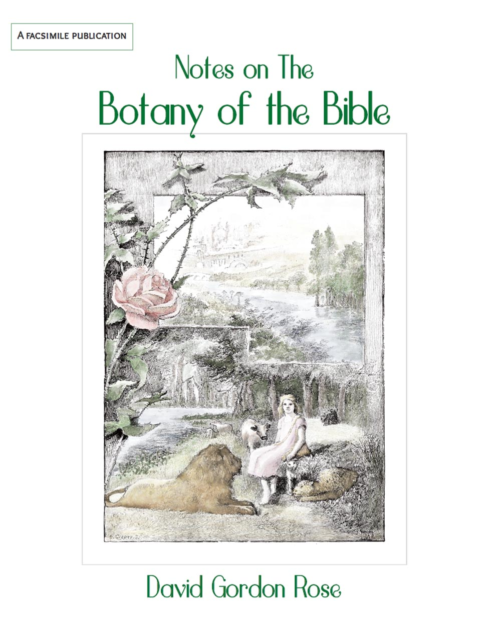 Notes on the Botany of the Bible FRONT COVER